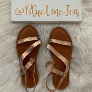 Lucky Brand Alexcia Sandals NWOT